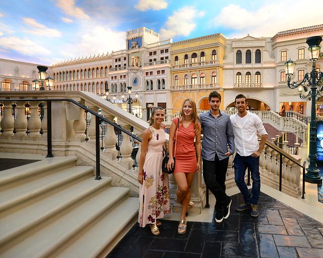 Diario de un Mentiroso en el hotel The Venetian en Las Vegas