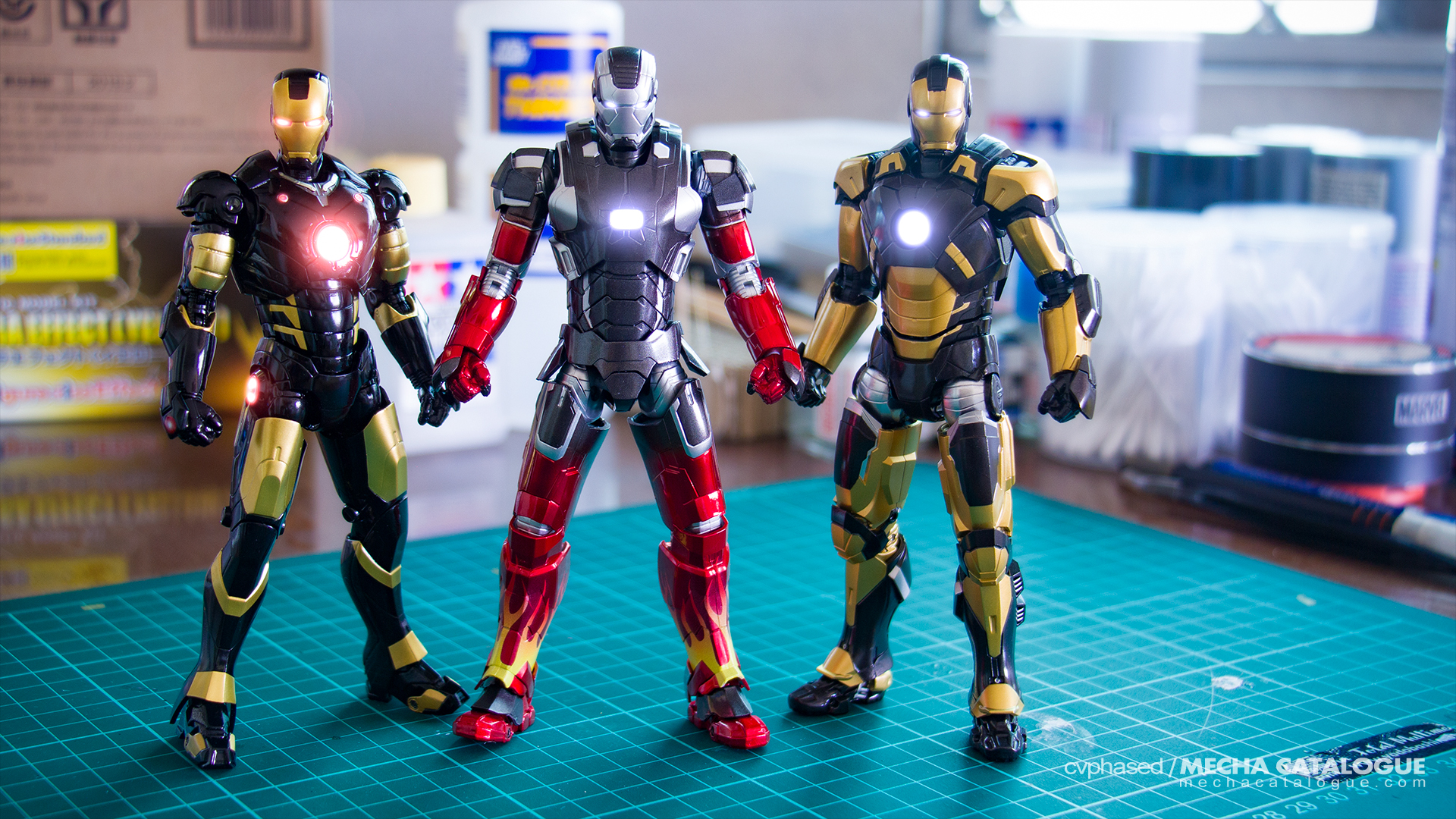 Workbench Snapshots: When Tony Stark Goes Black