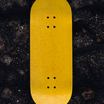 Systeam Fingerboard - Yellow Blank Deck