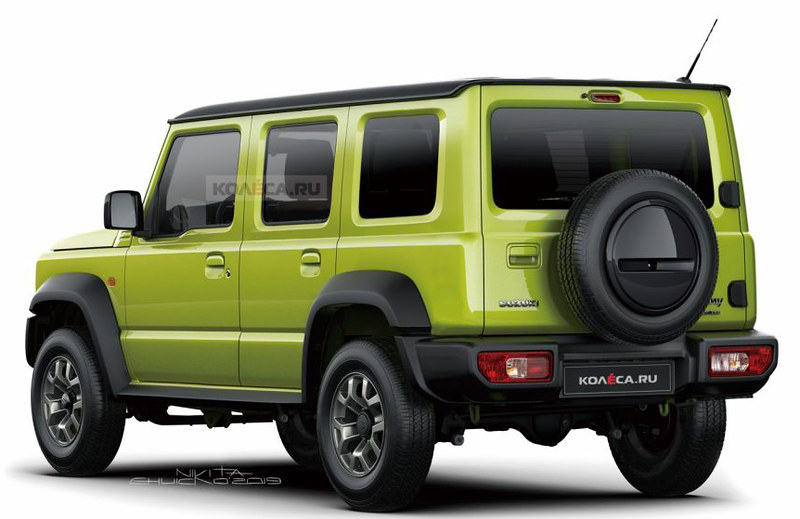 Five-door-Suzuki-Jimny-rendering-by-Kolesa-1024x576