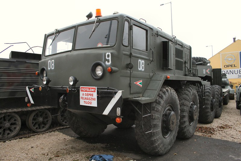 MAZ-537 Heavy Prime Mover 4