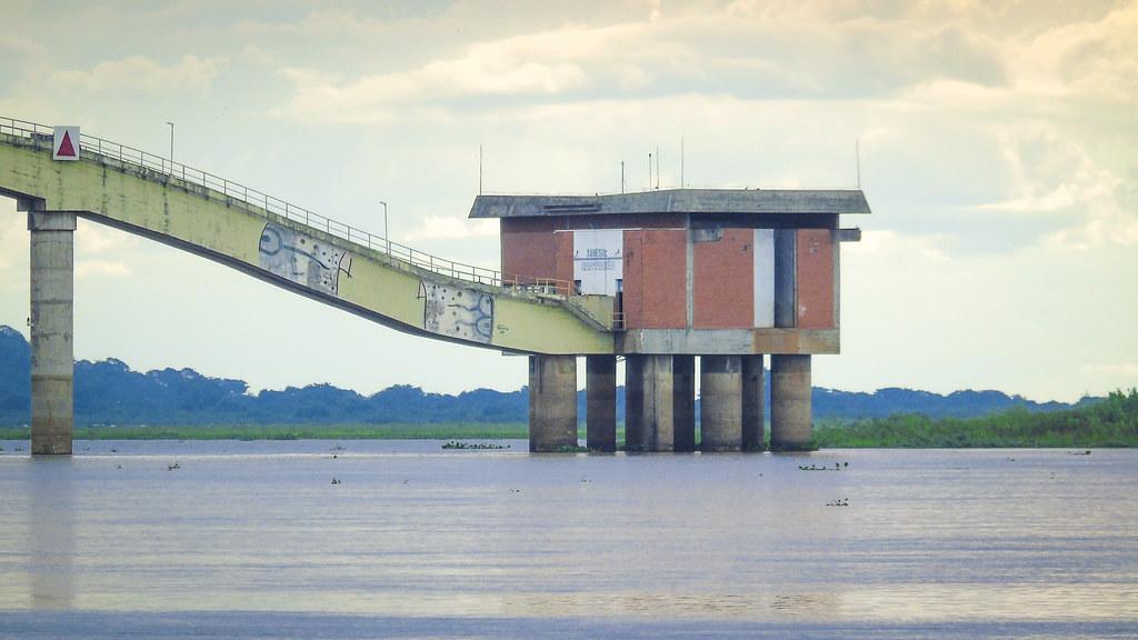 Captação de água do rio