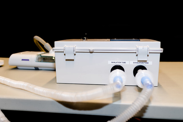 A new medical accessory that repurposes a CPAP into a functional ventilator