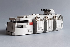 Imperial Troop Transport MOC by Edge of Bricks