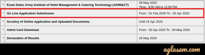 AIHMCT 2020 Application Form Last Date Extended