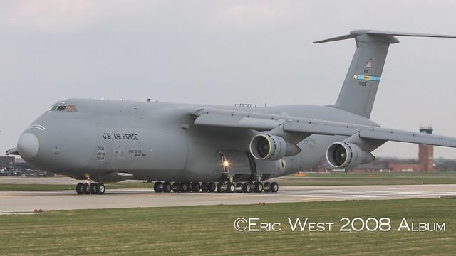 87-0035 C-5B GALAXY 436AW USAF