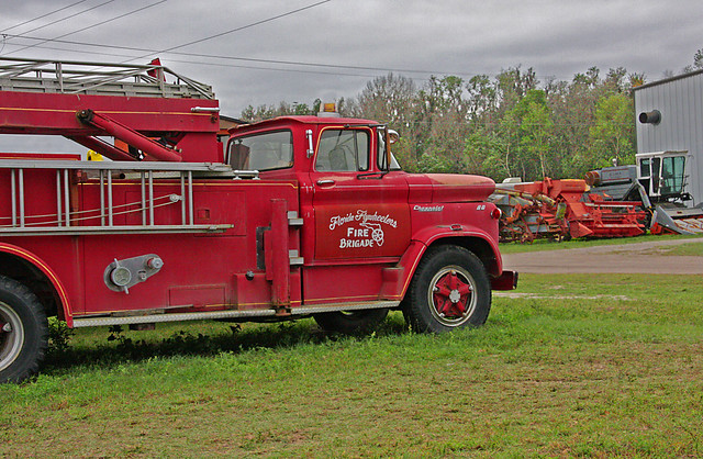 Florida Flywheeler's Fire Brigade, Fort Meade, Florida (2 of 3)