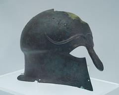 Bronze Corinthian helmet (inv. 5732) from Ruvo di Puglia