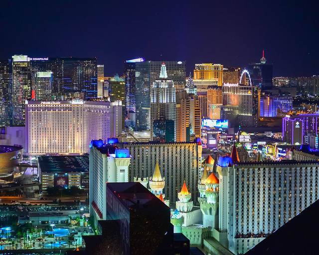 Vistas de Las Vegas desde arriba