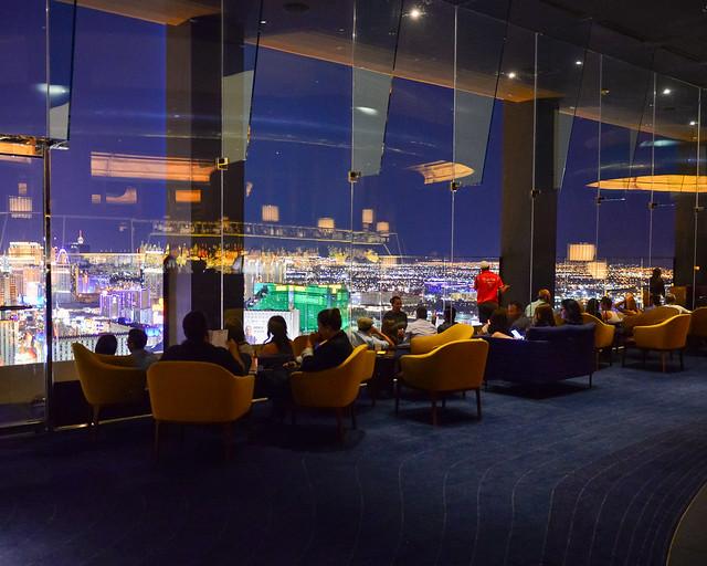 Mirador de Las Vegas del hotel Delano