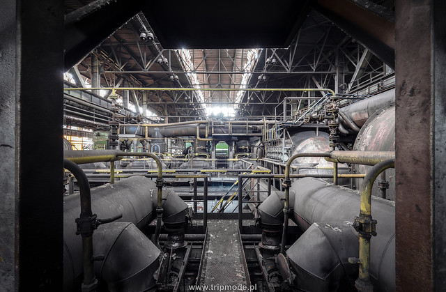 Abandoned rolling mill