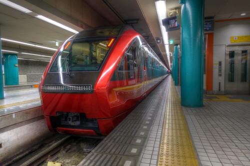01-04-2020 Nara, Kintetsu-Nara Station in early morning (3)