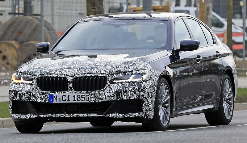 2021-bmw-5-series-facelift-spy-photo (1)