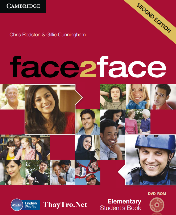 face2face second edition Elementary
