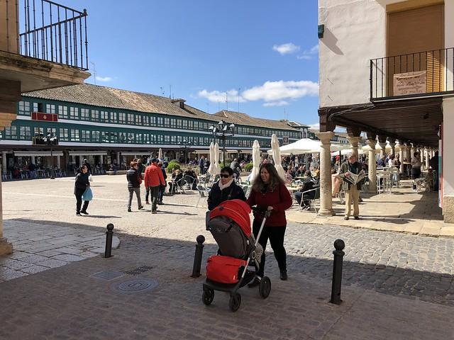Lado menor de la Plaza Mayor de Almagro (Ciudad Real, Castilla-La Mancha)