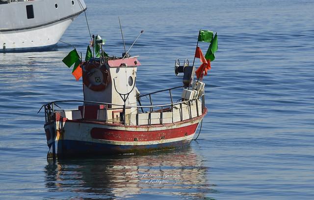 Pesquero en la ria de Punta Umbria (Huelva-Spain)