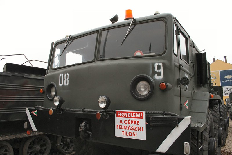 MAZ-537 Heavy Prime Mover 2