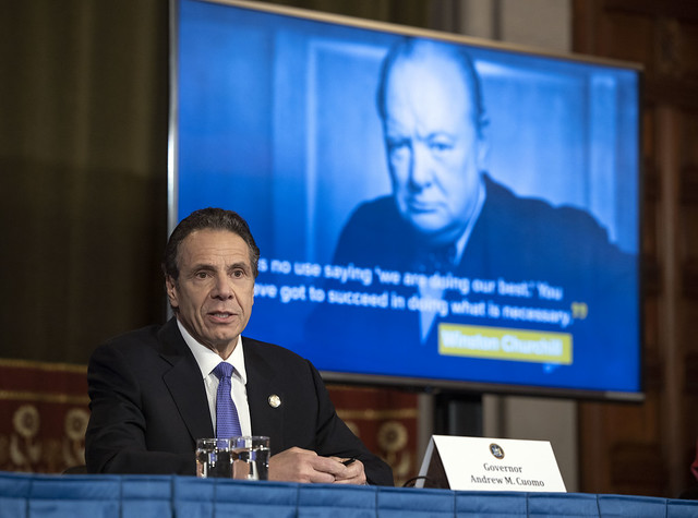 Governor Cuomo Holds Briefing on COVID-19 Response
