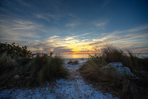sunset water beach ocean gulf florida emersonpoint gulfcoast sun landscape