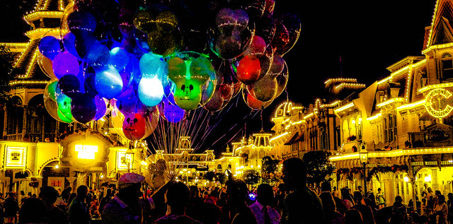 Night Lights on Main Street