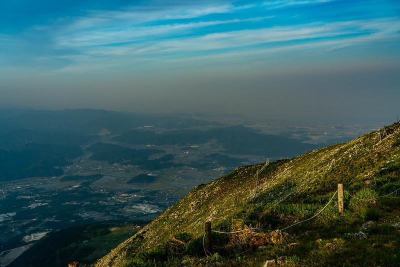 伊吹山から琵琶湖