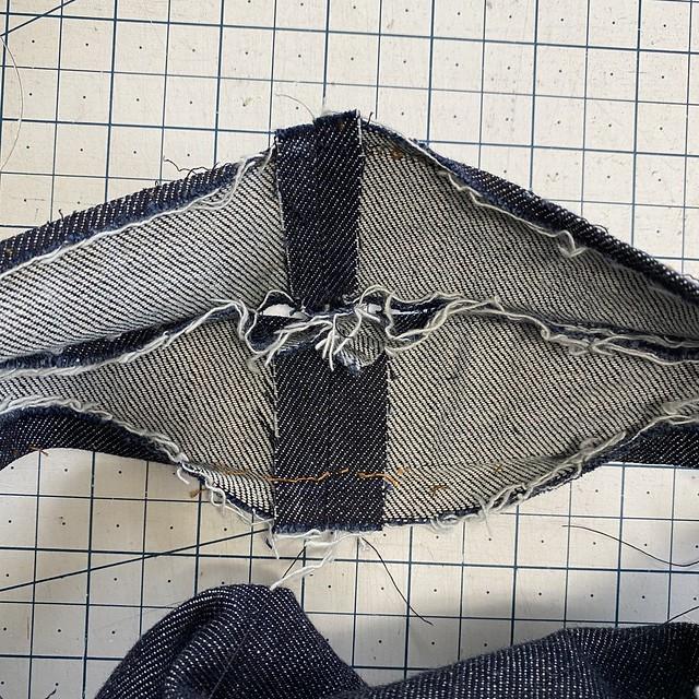 Jeans Alteration: Waistband