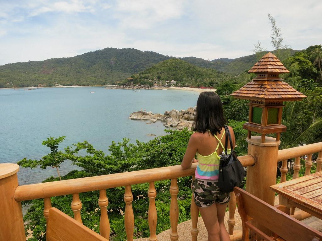 View over Thong Nai Pan Noi beach
