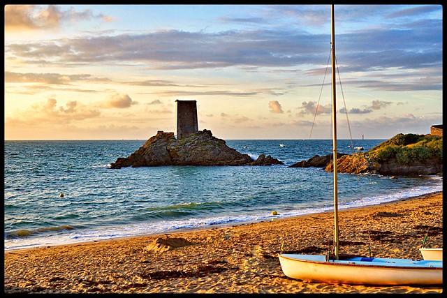 Saint Lunaire . Bretagne. France