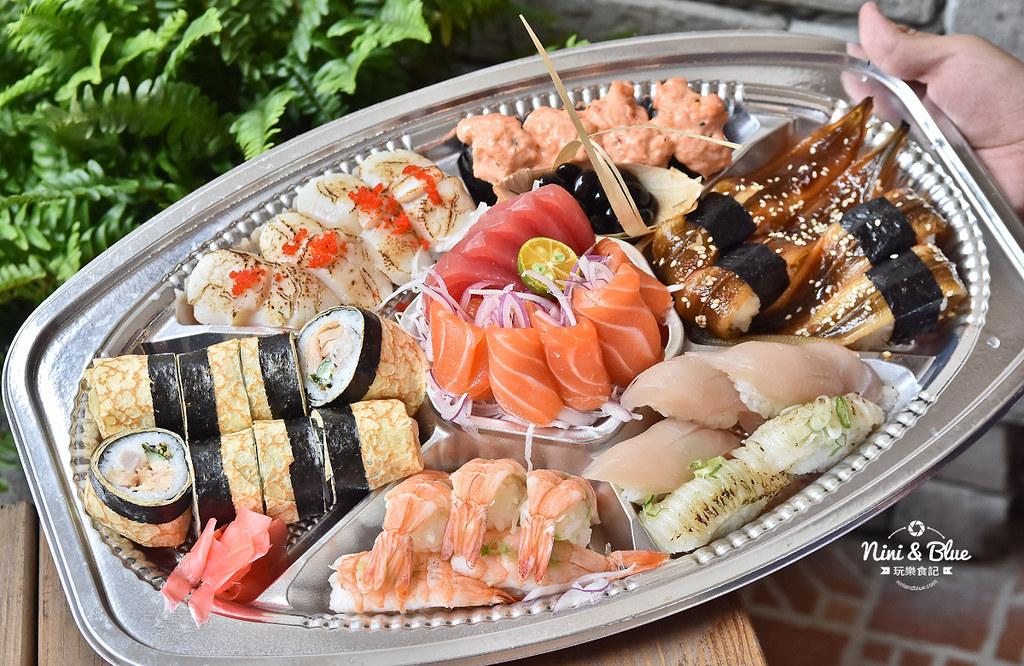 台中平價壽司 幸運壽司  菜單價位25