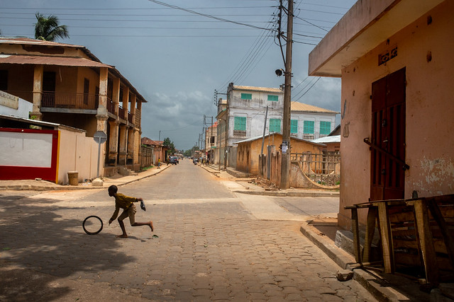 Mystery and Melancholy of a Street in Benin