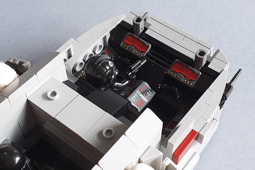 Imperial Troop Transport MOC by Edge of Bricks