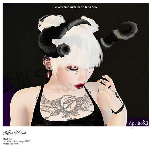 Epicine - Kolja Horns [Black] Ad