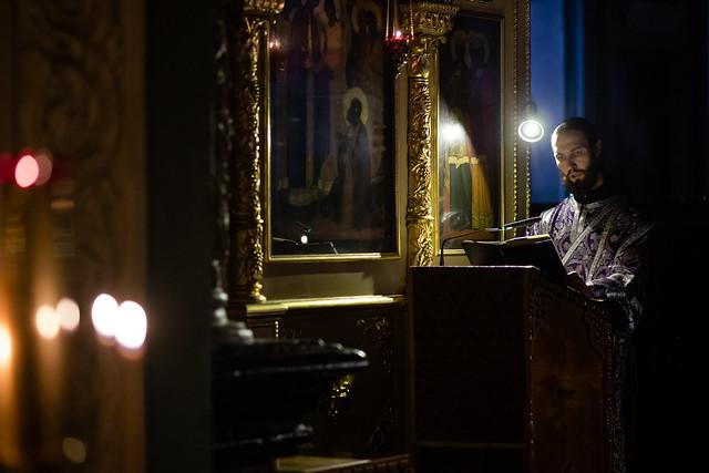 1 апреля 2020, Мариино стояние. Чтение канона прп.Андрея Критского / 1 April 2020, St. Mary's Standing. Reading the Canon of Andrew Of Crete