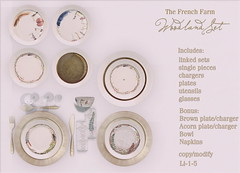 The French Farm-Woodland Setting fatpack