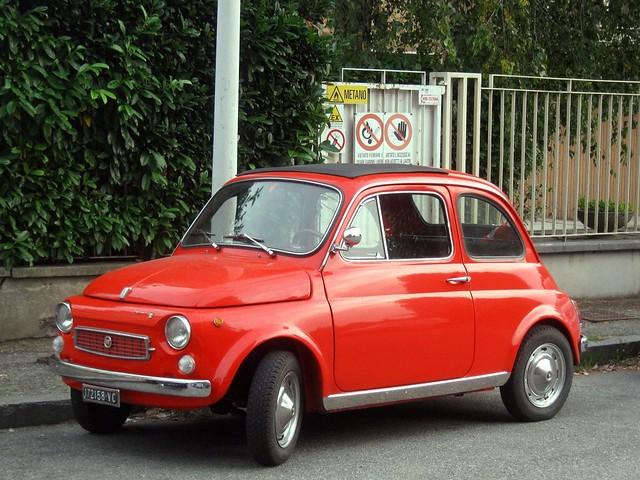 Fiat 500 My Car Francis Lombardi 1969