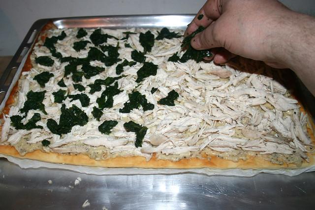 32 - Spinat hinzufügen / Add spinach