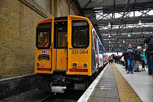 313064 + 313134 - London Kings Cross - 23/10/19.