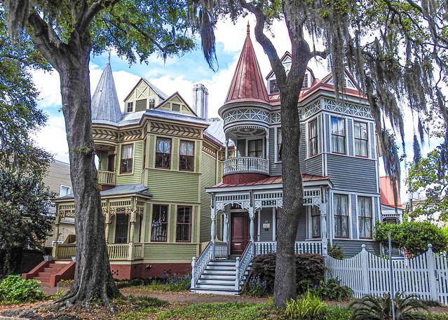 Savannah Georgia / Historic houses