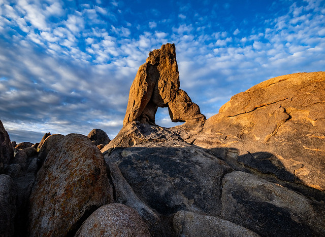 Boot Arch in The Alabama Hills