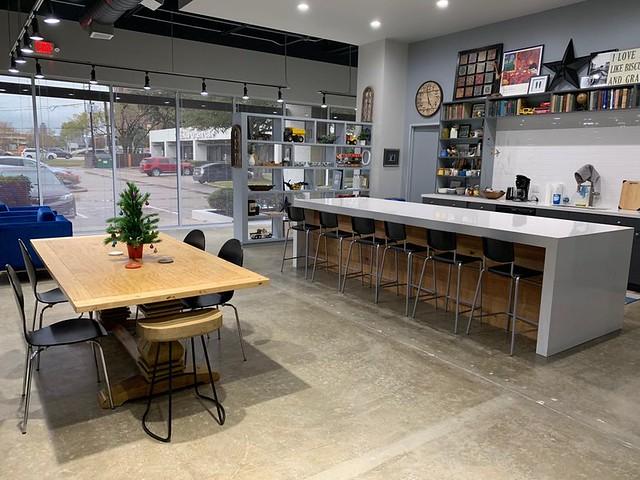 Origin Cowork - kitchen