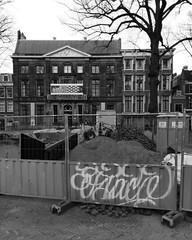 #blackandwhite #eschermuseum #graffiti #streetart