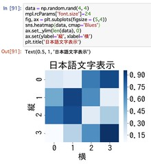 Jupyter Notebook Japanese Chars