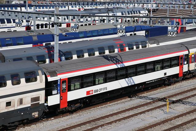 2020-04-01, CFF, Zürich Herdern, B EW IV 21-95 141