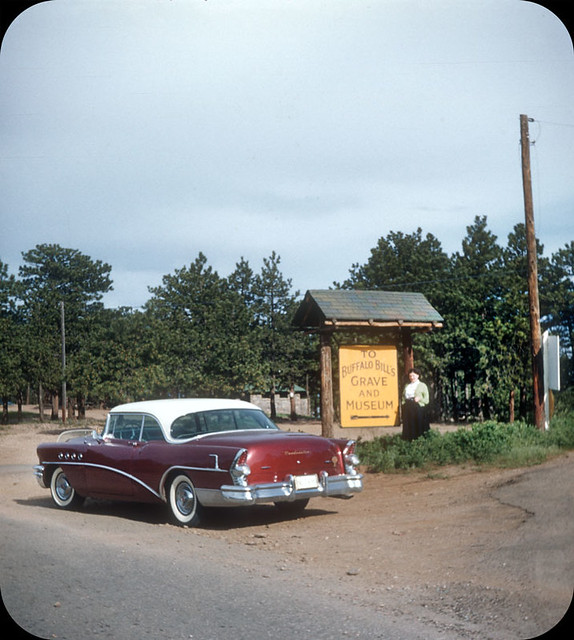 Buffalo Bill's Grave and Museum, Golden, CO – 1957