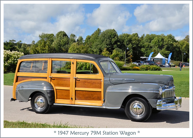 1947 Mercury 79M Station Wagon