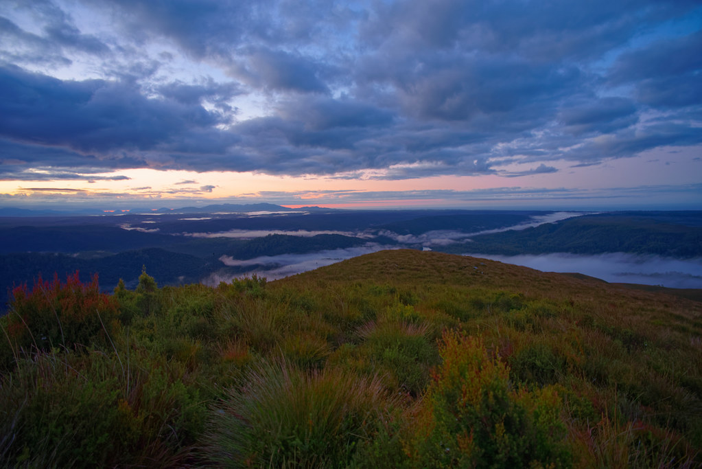 Dawn, Mount Donaldson