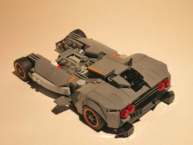 This is my lego version of batmobile from