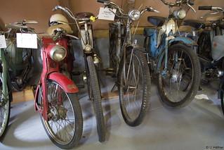 0c- 1950 Fahrrad mit Zündapp Motor u. Victoria