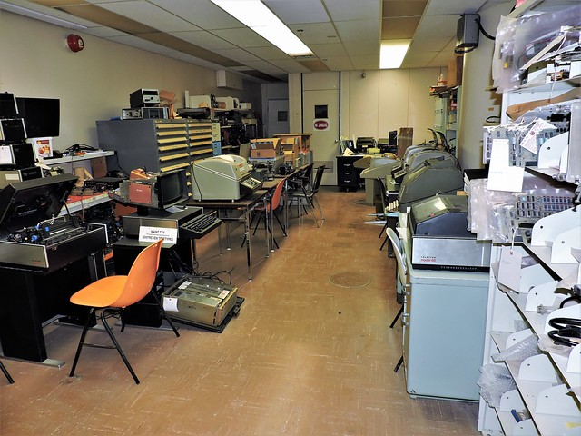 Teleprinter Repair Room