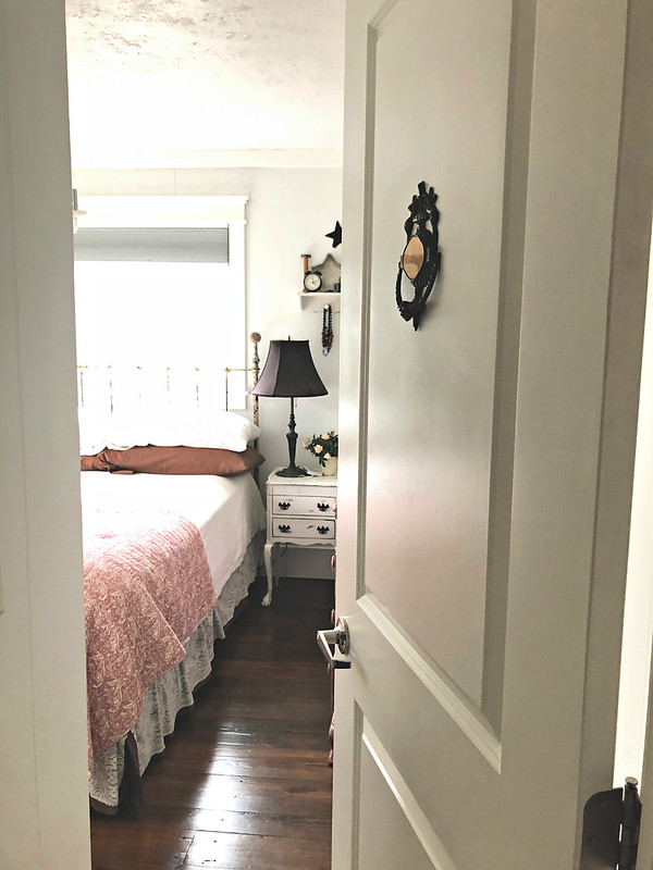 our tiny master bedroom